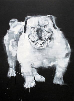 Painting - Unstumbling Force #bulldog by Fabrizio Cassetta