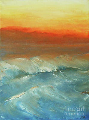 Painting - Untamed by Jane See