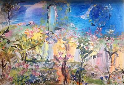 Painting - Untangle My Garden  by Judith Desrosiers
