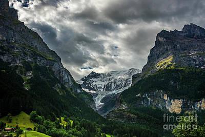 Grindelwald Photograph - Unterer Grindelwaldgletscher - Grindelwald - Switzerland by Gary Whitton