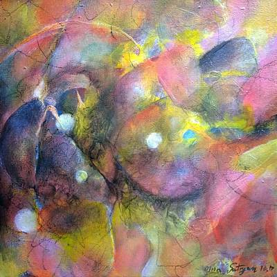 Painting - Until Lately by Mira Satryan
