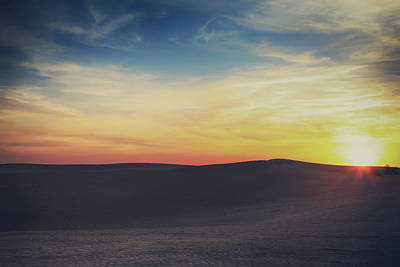 Sand Dunes Photograph - Until The End by Laurie Search