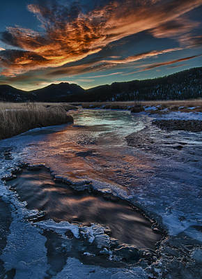 Big Thompson River Photograph - Until The Last Possible Moment by Mike Berenson