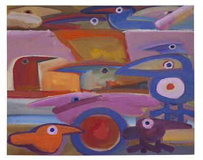 Untitled - 28-98 Art Print by Rogerio Dias