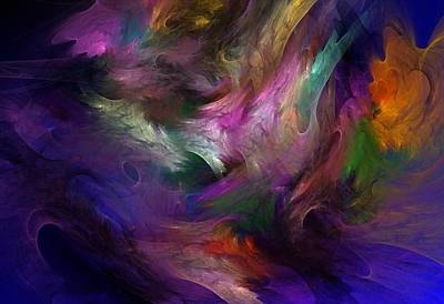 Abstract Digital Digital Art - Untitled 01-12-10 by David Lane