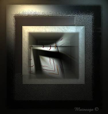 Digital Art - Untitled 101 by Ines Garay-Colomba