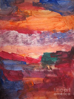 untitled 109 Original Painting Art Print
