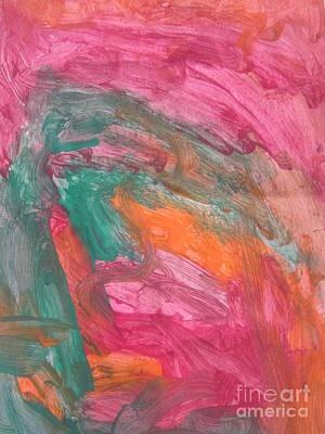 Untitled 121 Original Painting Art Print