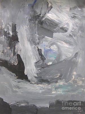 Untitled 124 Original Painting Art Print