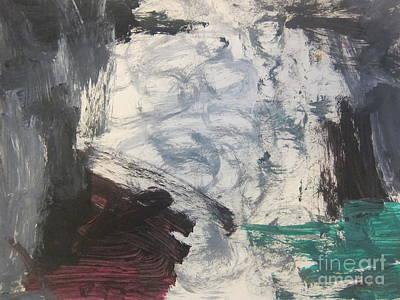 Untitled 127 Original Painting Art Print