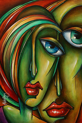 Urban Expressions Painting - Untitled 6 by Michael Lang