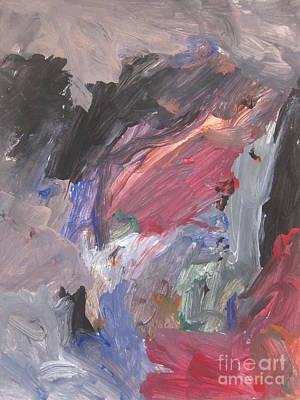 Untitled #6  Original Painting Art Print