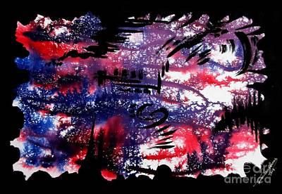 Untitled-80 Art Print