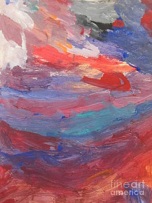 Untitled 96 Original Painting Art Print