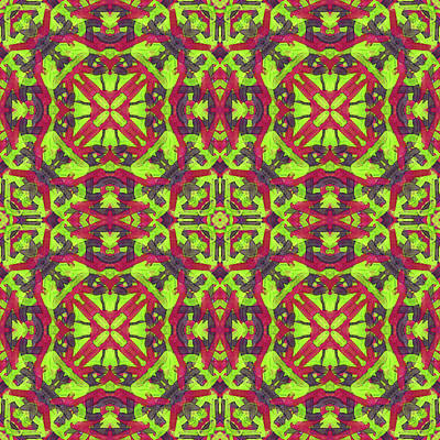 Digital Art - Untitled -a- Soup -multi-pattern- by Coded Images