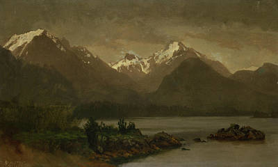 Untitled Art Print by Albert Bierstadt