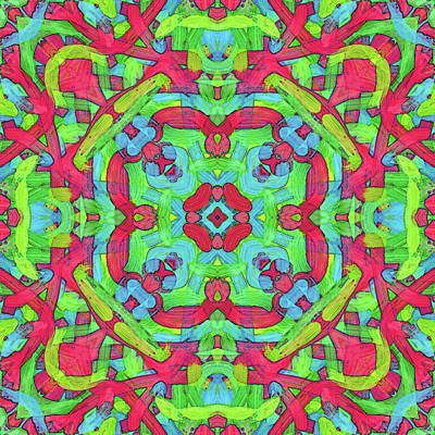 Digital Art - Untitled -b- Soup -pattern- by Coded Images