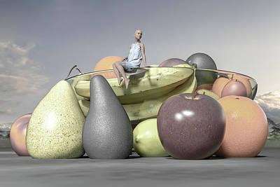 Still Life Digital Art - Untitled  by Betsy Knapp