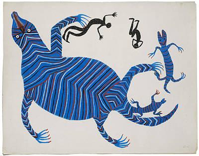 Bhuri Bai Painting - Untitled by Bhuri Bai 2001