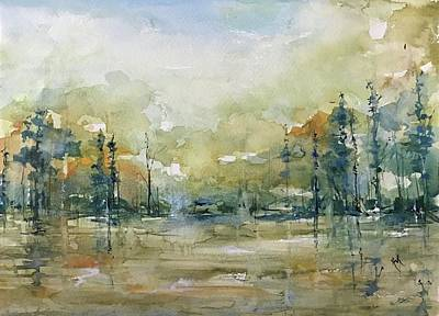 Painting - Untitled Cypress by Robin Miller-Bookhout