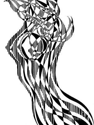 Untitled,  Female Nude Figure Art Print