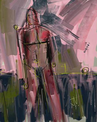 Digital Art - Untitled Figure 10march2017 by Jim Vance