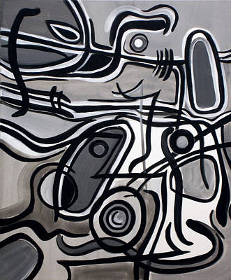 Painting - Untitled Gray by Lynda Lehmann