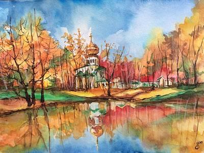 Orthodox Church Original by Gulina Oksana