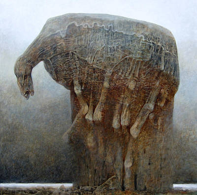 Painting - Untitled Ho by Zdzislaw Beksinski
