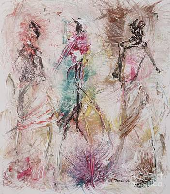 Ladies Painting - Untitled by Ikahl Beckford