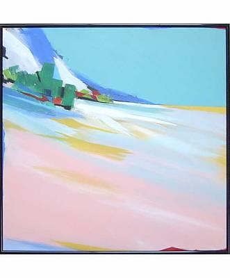 Untitled Landscape Art Print by M Jaquis