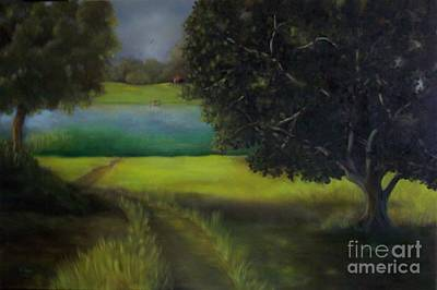 Painting - Untitled Landscape by Marlene Book