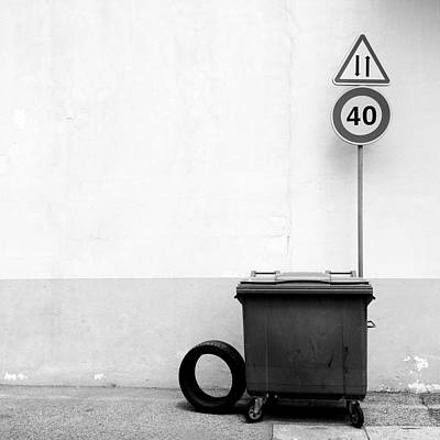 Dumpster Photograph - Untitled 20150803 by Marco Oliveira