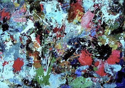 Art Print featuring the painting Untitled by Melinda Saminski