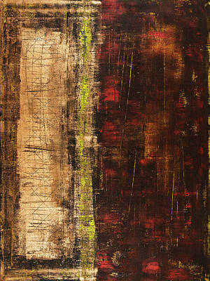 Copper Color Painting - Untitled No. 13 by Julie Niemela