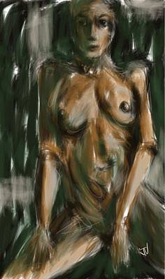 Painting - Untitled Nude - 23feb2016 by Jim Vance
