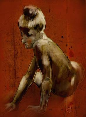 Digital Art - Untitled Nude 25jan2017 by Jim Vance