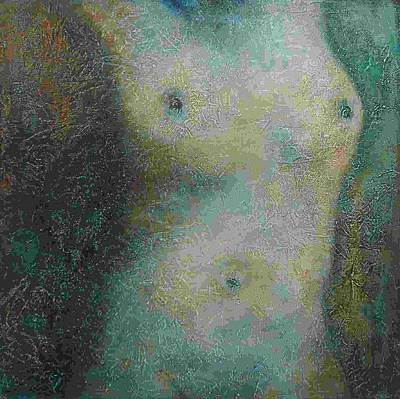 Painting - Untitled Nude by Valerie Greene