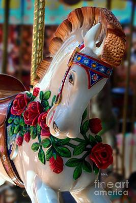 Photograph - Carousel Equine by Patrick Witz