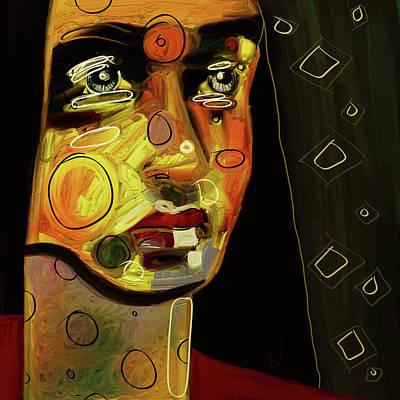 Digital Art - Untitled Portrait - 03aug2017 by Jim Vance