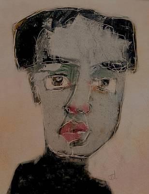 Painting - Untitled Portrait 05mar2016 by Jim Vance