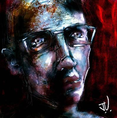 Digital Art - Untitled Portrait - 09oct2017 by Jim Vance