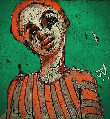 Digital Art - Untitled Portrait 17dec2015 by Jim Vance