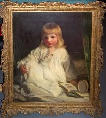 Nightshirt Painting - Untitled Portrait by James Sant