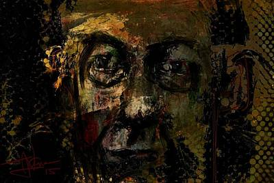 Mixed Media - untitled portrait May 18 2015 by Jim Vance