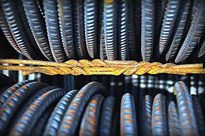 Untitled Rust 1 Art Print by Paul Causie