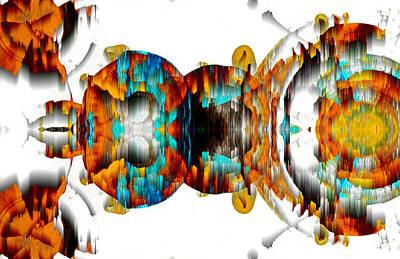 Digital Art - Untitled Series 992.042212 -b by Kris Haas