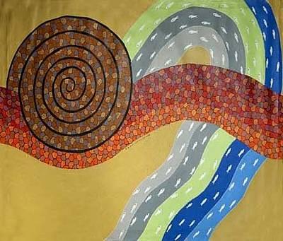 Gond Art Painting - Untitled by Venkat Shyam