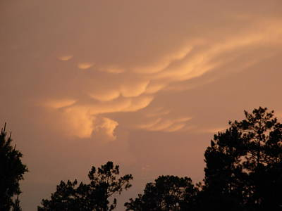 Photograph - Unusual Cloud Sunset by Jeanne Kay Juhos