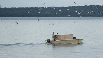 Photograph - Unusual Fishing Boat by Gary Crockett